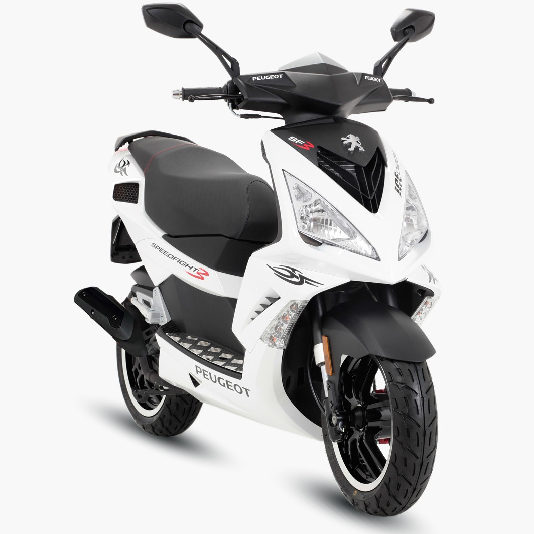 Озвучен ценник юбилейной версии скутера Пежо Speedfight