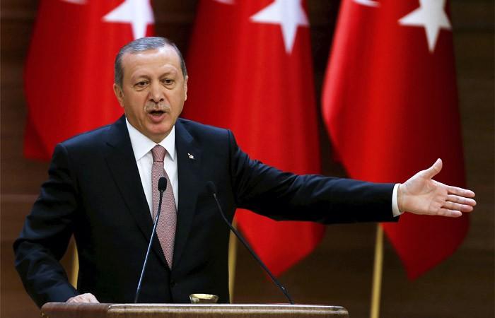 Эрдоган призвал турков вевропейских странах рожать по 5 детей