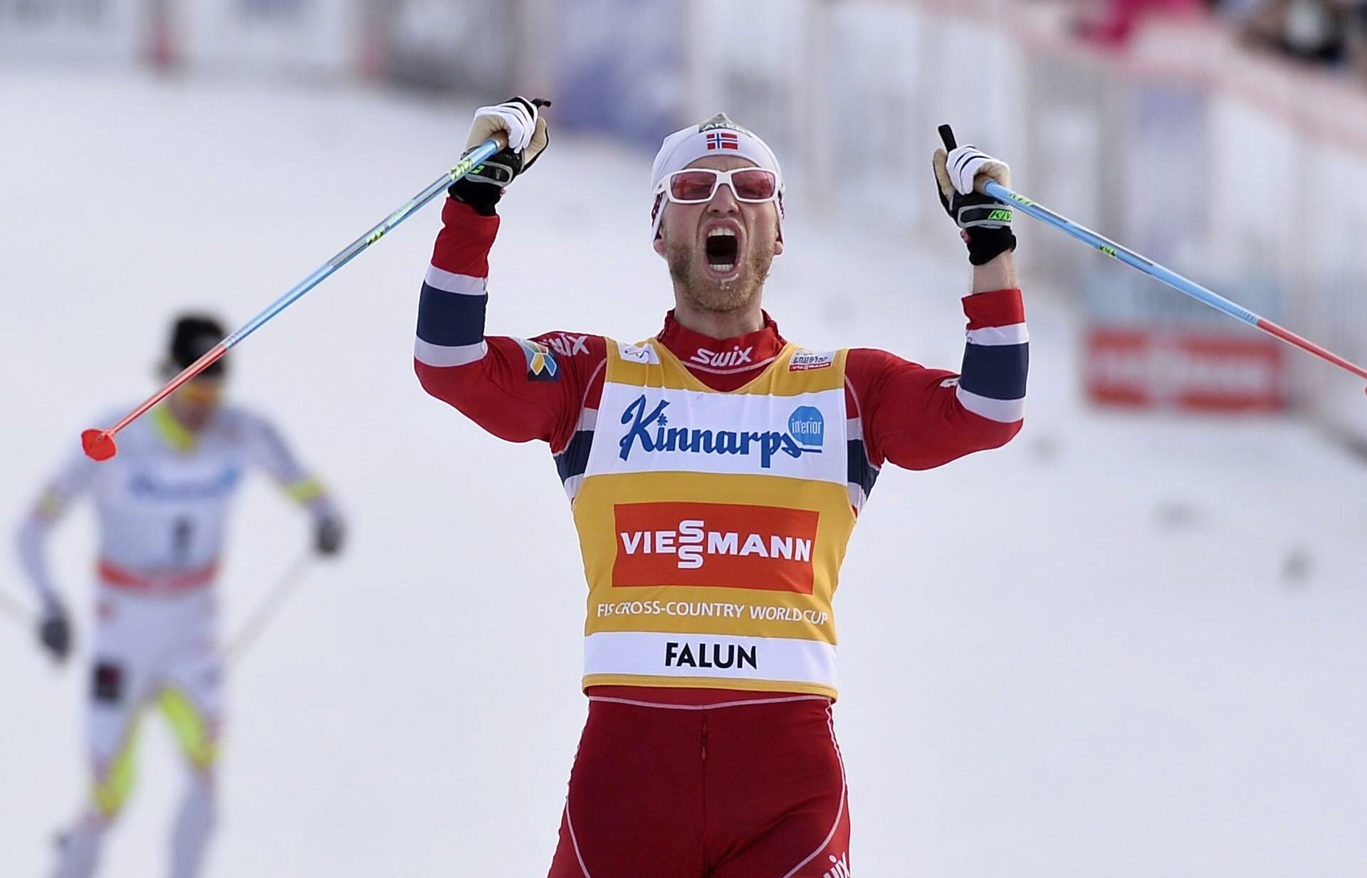 Снегоход сбил норвежского лыжника Сундбю впроцессе марафона