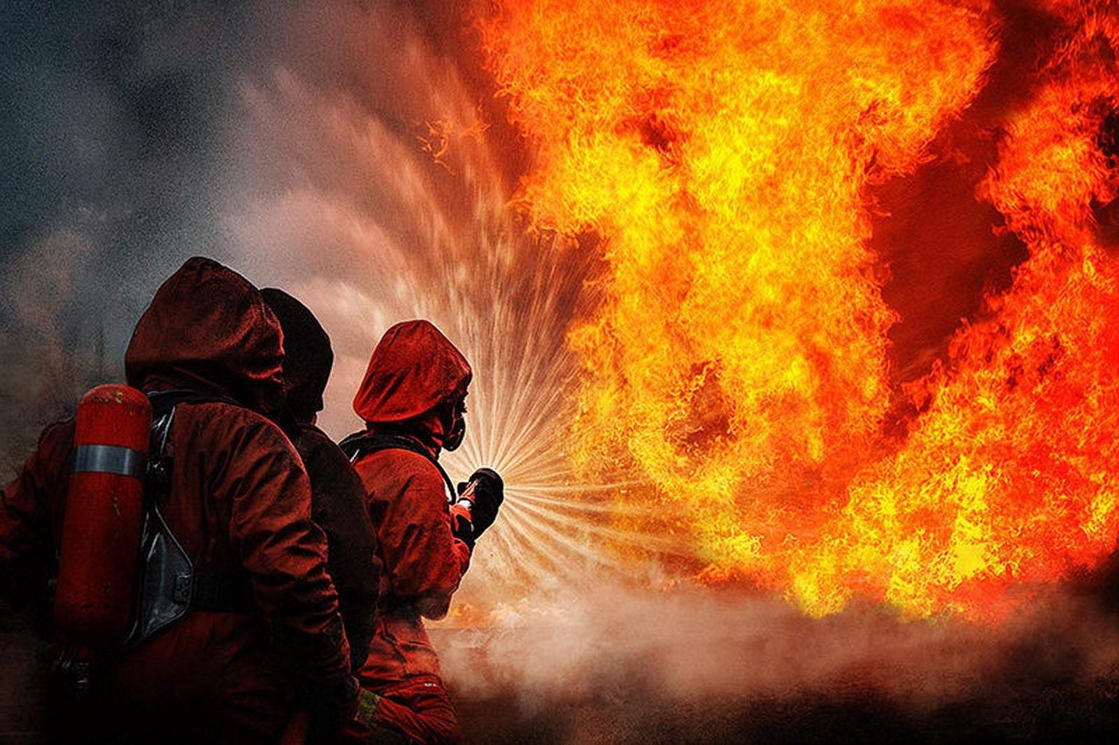 В столице России произошёл пожар натерритории завода ЗИЛ