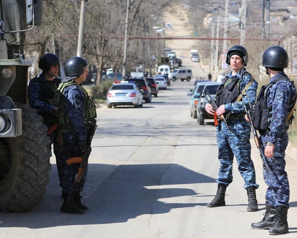 Контртеррористическая операция началась вХасавюрте иеще 3-х  районах Дагестана