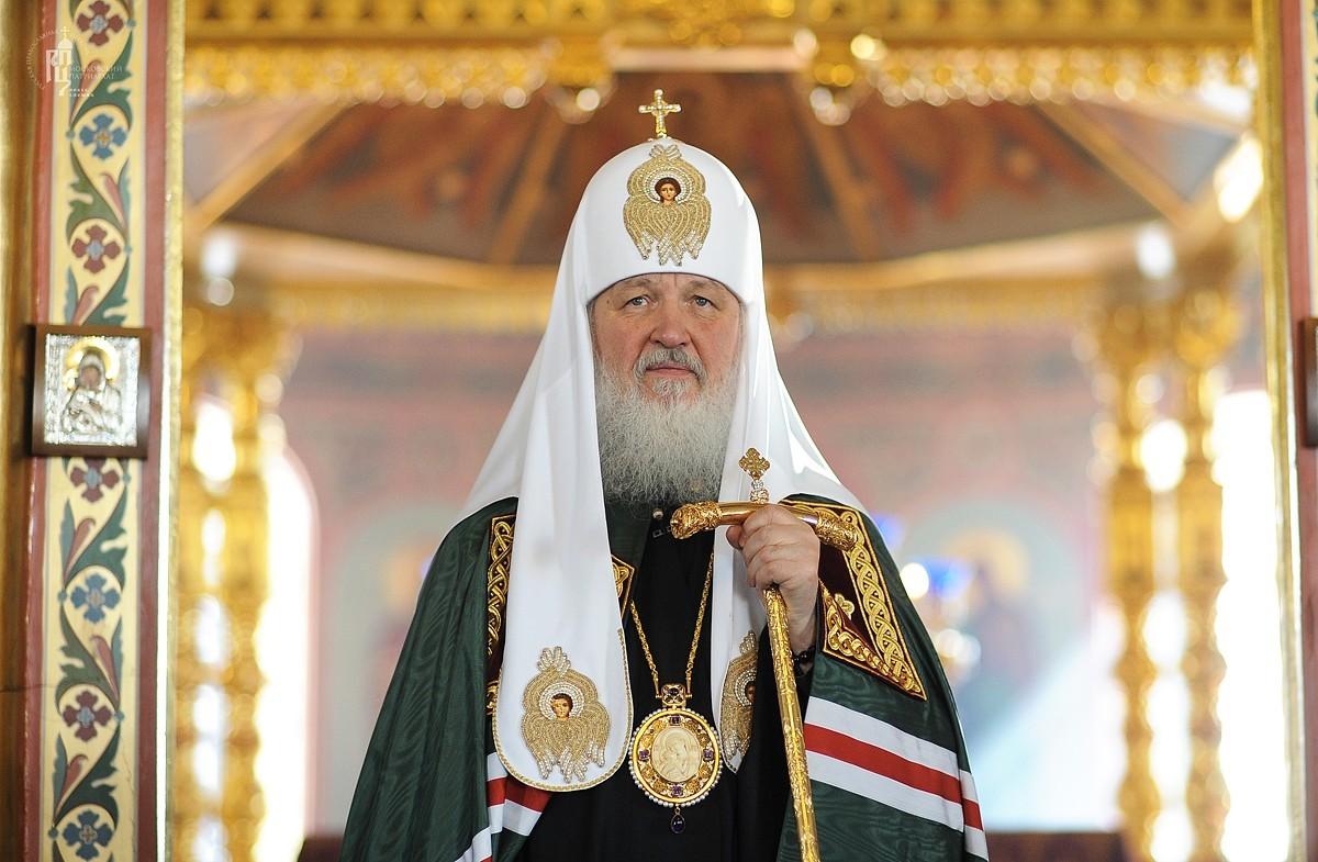 Патриарх Кирилл освятил единственный вмире храм вчесть святителя Иова