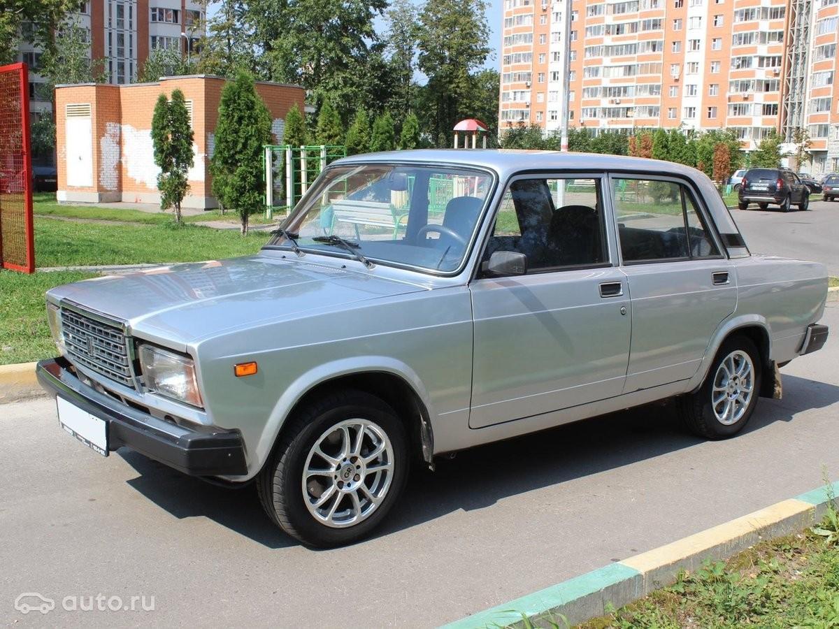 Лада  2107 стала лидером автопарка РФ