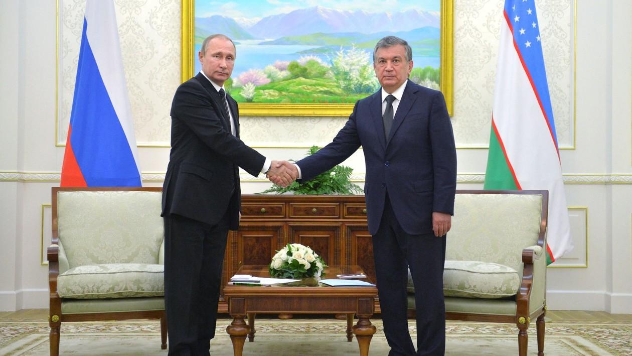 Путин: Узбекистан иРФ вышли науровень стратегического партнерства