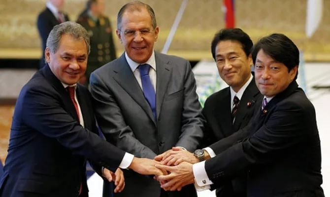Шойгу поделился своими надеждами вотношении Японии иСирии