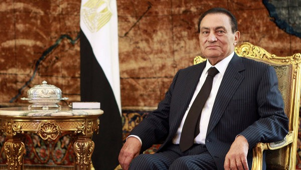 СМИ проинформировали овыходе насвободу прежнего президента Египта Хосни Мубарака