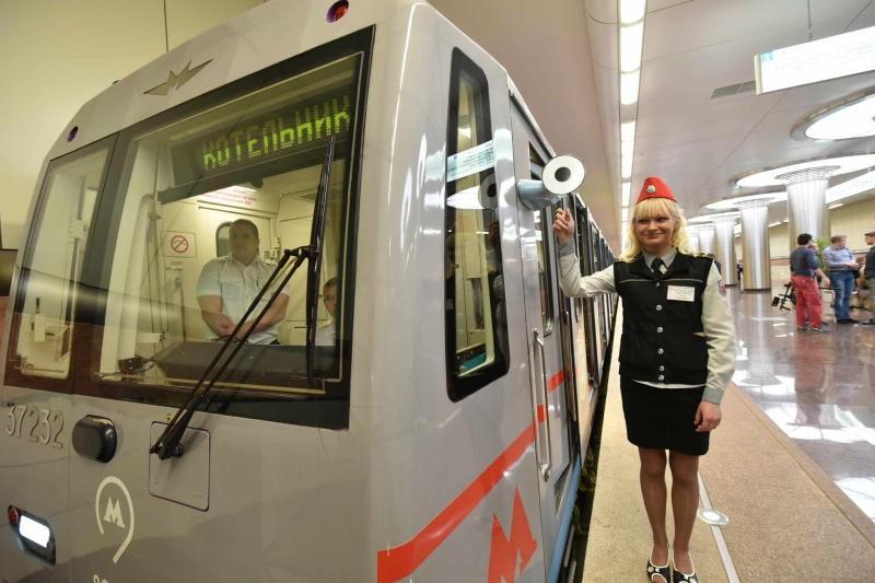 Новейшую форму работники столичного метро получат настанции «Котельники»