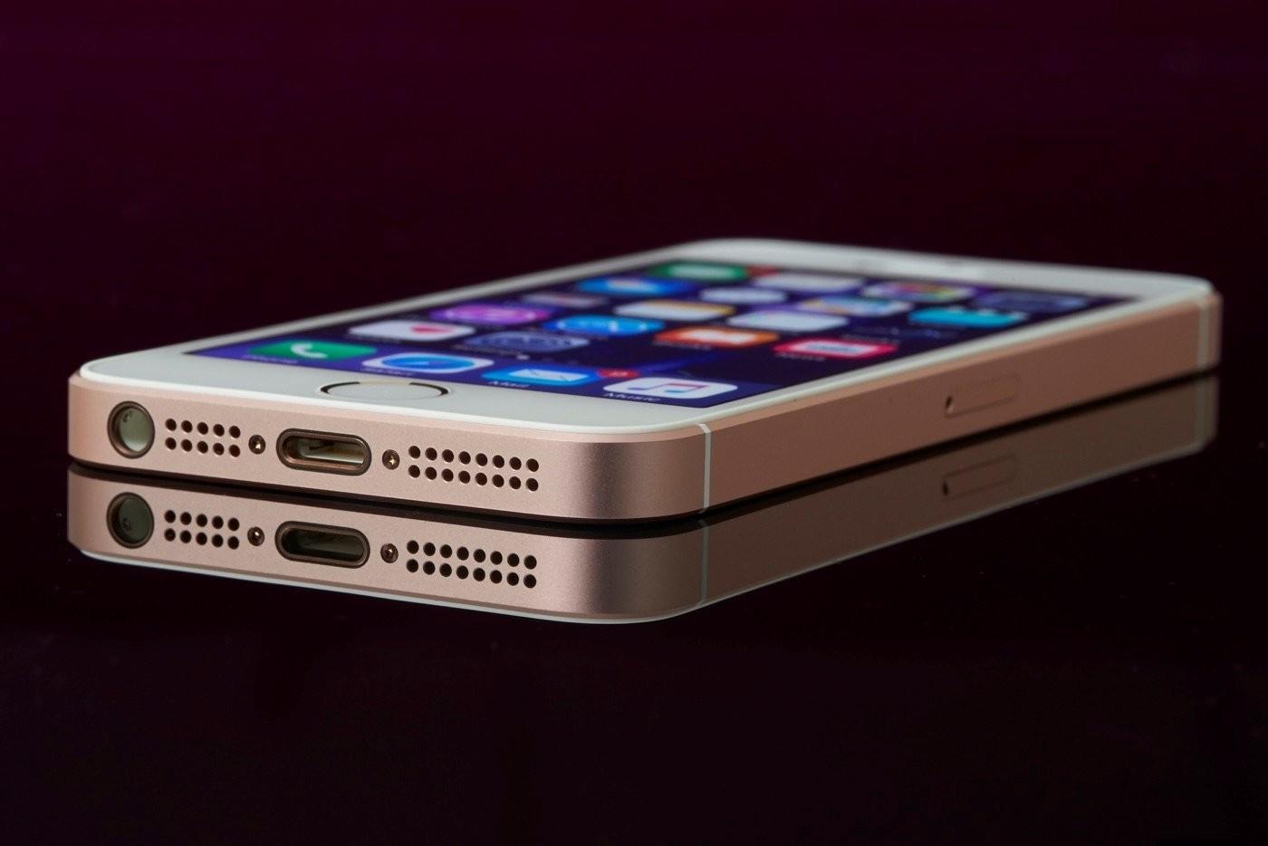 IPhoneSE получил до128 Гбайт встроенной памяти