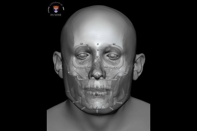 Ученые реконструировали лицо погибшего 700 лет назад бедняка