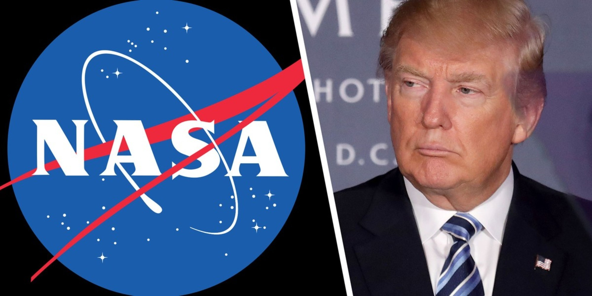 Трамп подписал закон о финансовом снабжении полета NASA наМарс