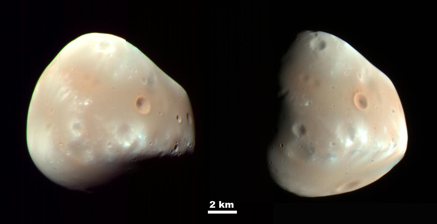 Ученые обнаружили исчезающие спутники Марса
