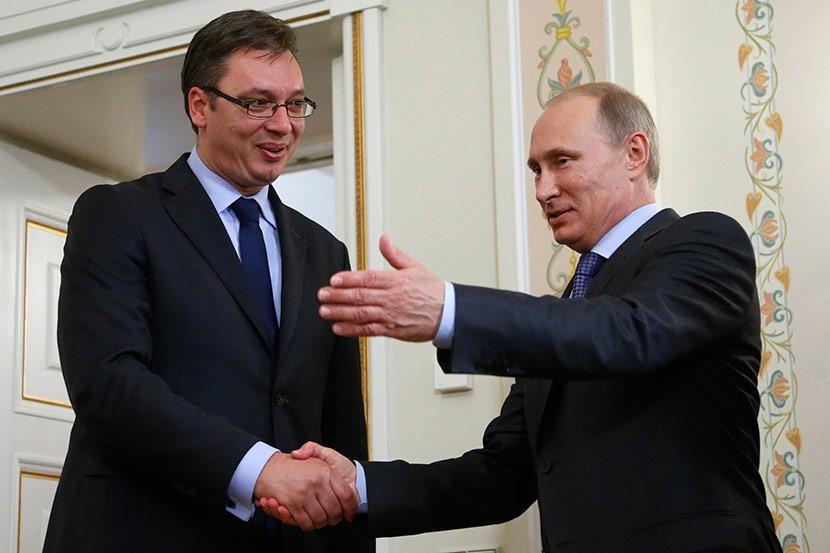 Премьер Сербии встретится сПутиным в российской столице 27марта