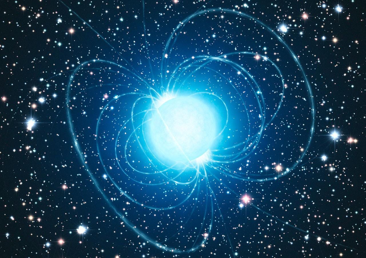 Ученые опубликовали видео падения человека нанейтронную звезду