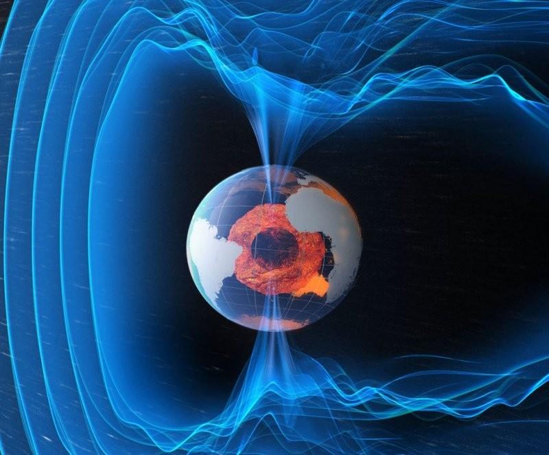 Ученые показали карту магнитных аномалий Земли
