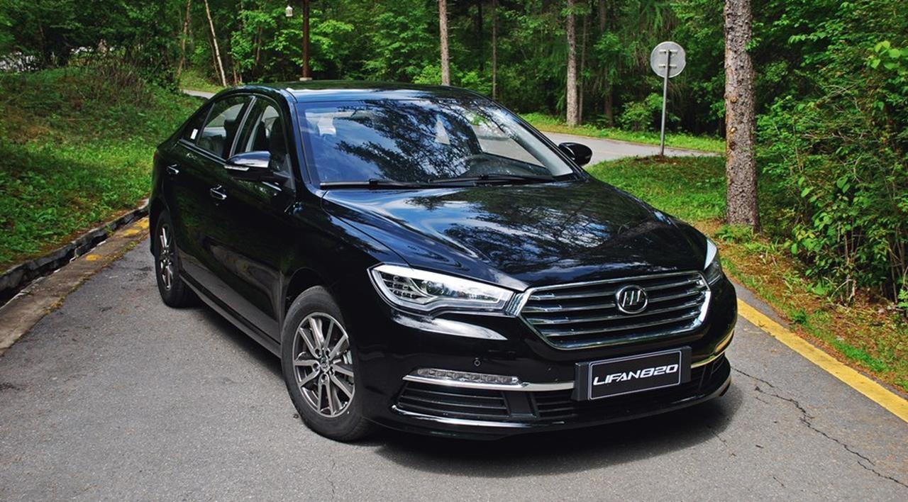 Русские продажи седана Лифан 820 стартуют во 2-ой половине мая
