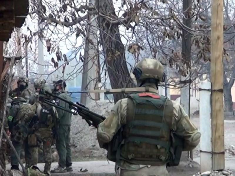 Шесть боевиков ликвидированы при попытке пробиться вчасть Росгвардии вЧечне