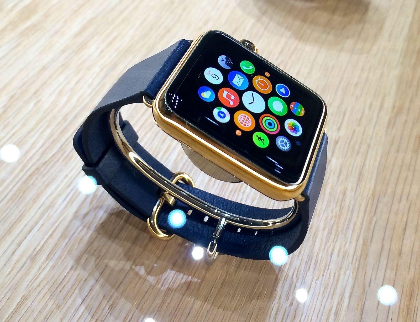 Apple анонсировала выпуск разноцветных ремешков для Apple Watch