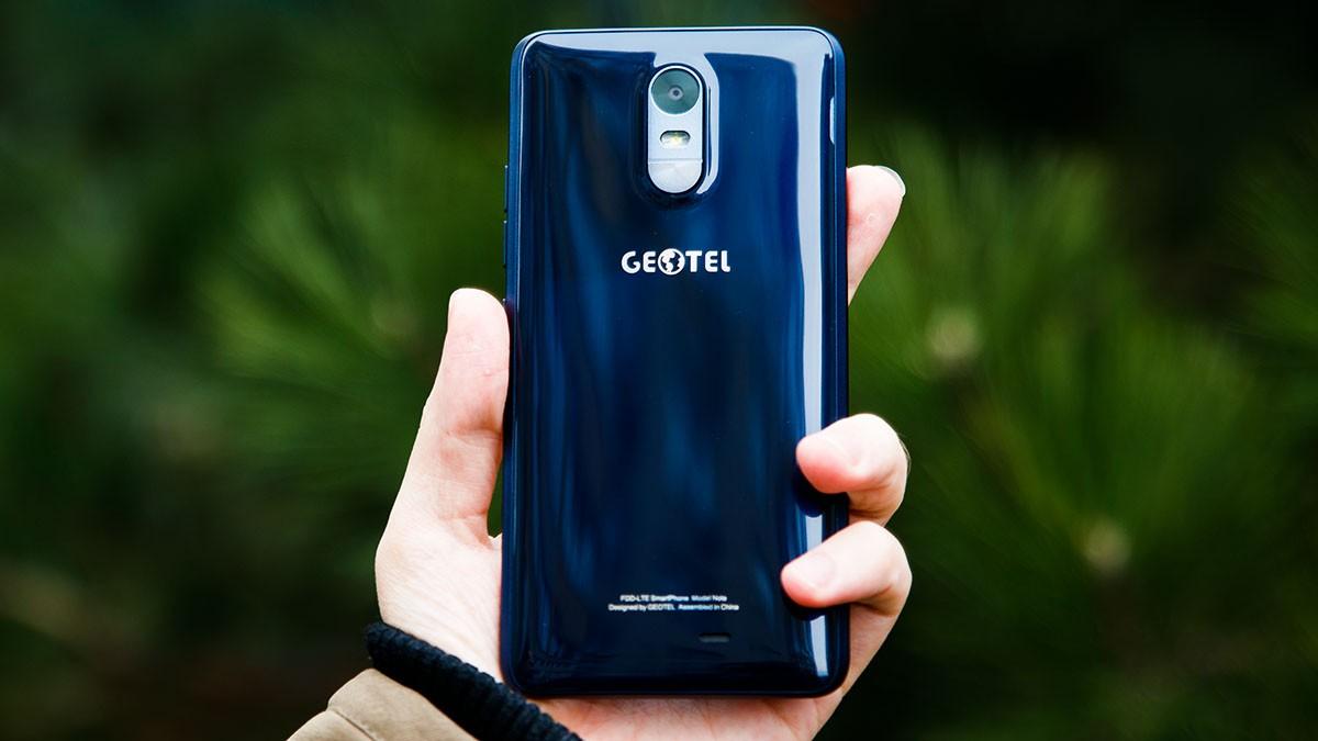 Geotel выпустил свой 1-ый незащищенный смартфон Geotel Note