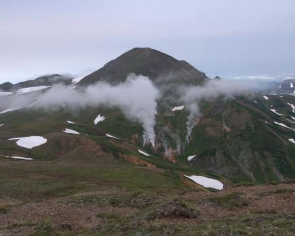 На Камчатке проснулся вулкан который спал 200 лет
