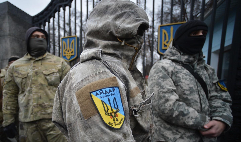 Бойцы батальона «Айдар» взяли взаложники людей вРовенской области