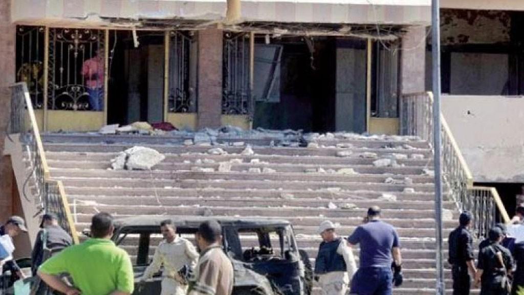 ВЕгипте взорвано сооружение исламского института