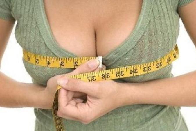 Специалисты узнали, отчего зависит размер груди уженщин