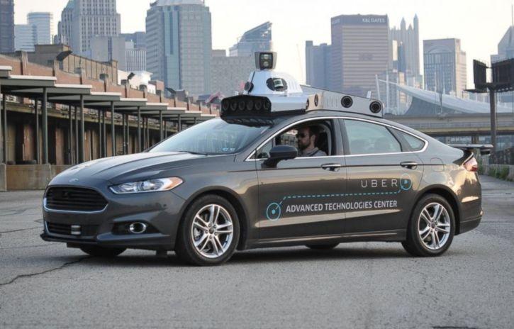 ВСША самоуправляемый автомобиль компании Uber попал вДТП