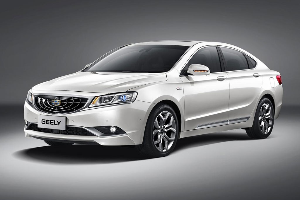 Geely обновила фастбэк Emgrand GT