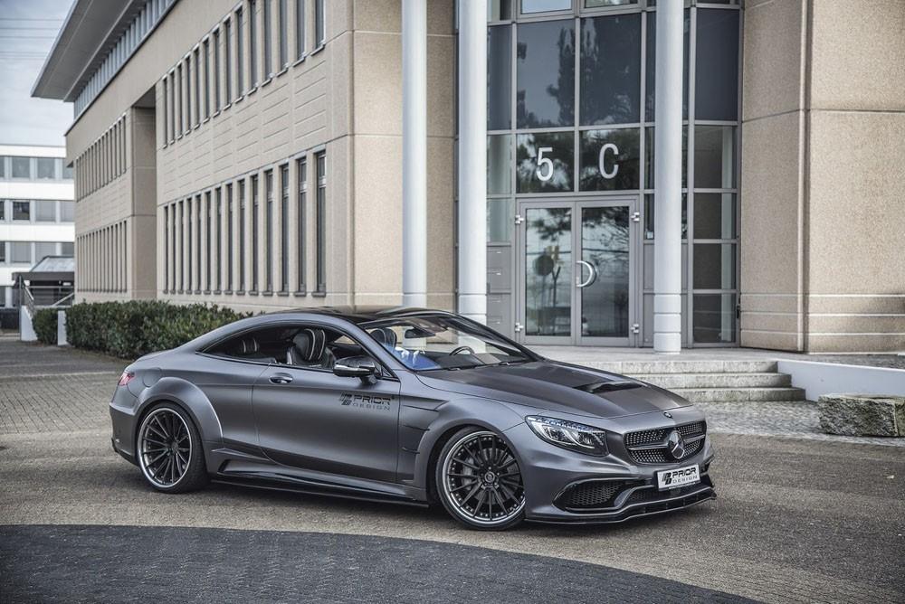 Prior-Design позволил Mercedes S-Class нарастить мускулатуру