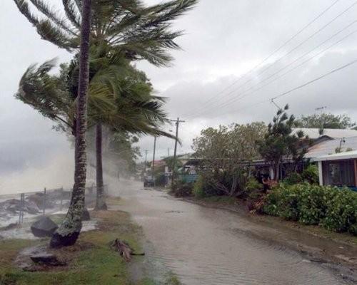 НаАвстралию обвалился разрушительный циклон «Дебби»