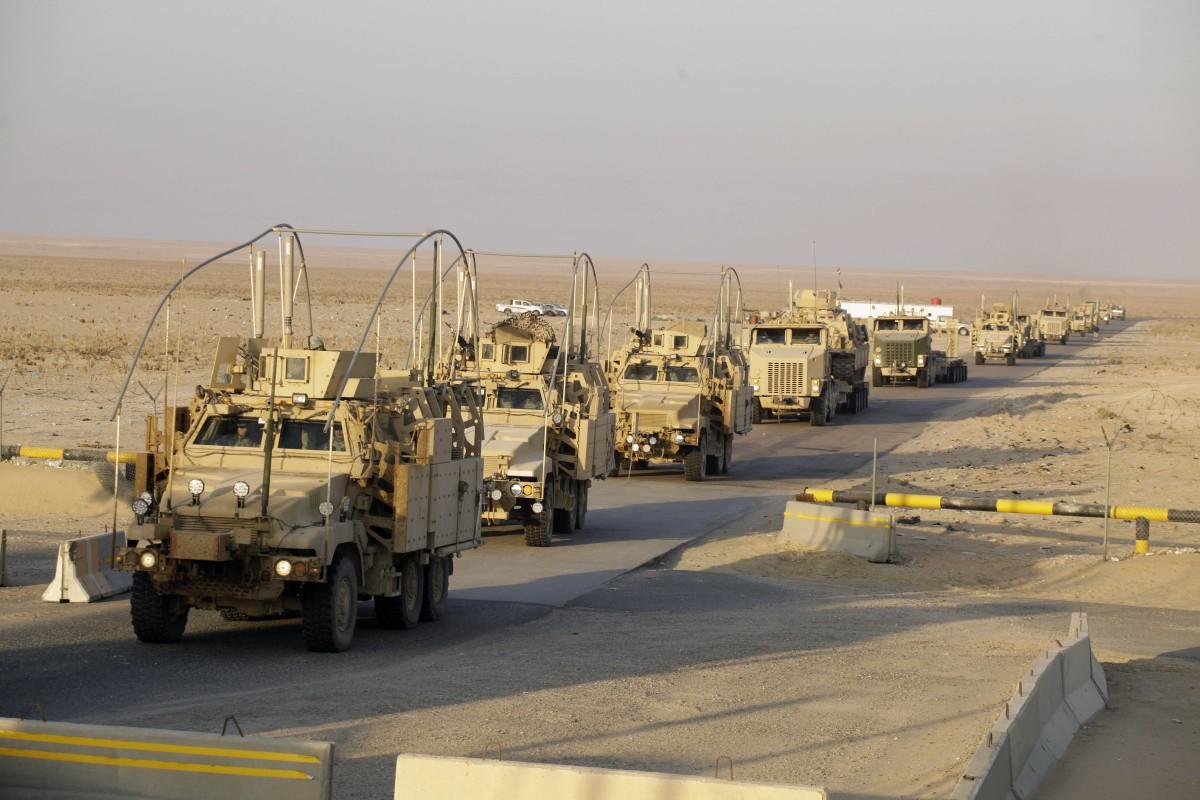 Военная техника США и Англии  въехала вПольшу