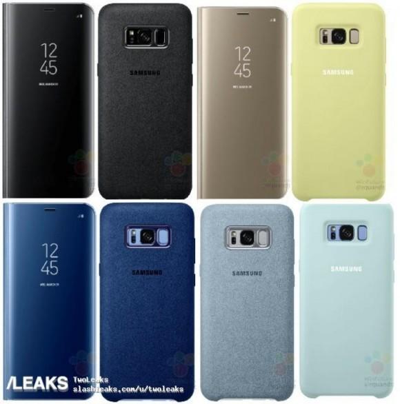 В сеть просочились фотографии и цены на аксессуары для Samsung Galaxy S8 и Galaxy S8 Plus