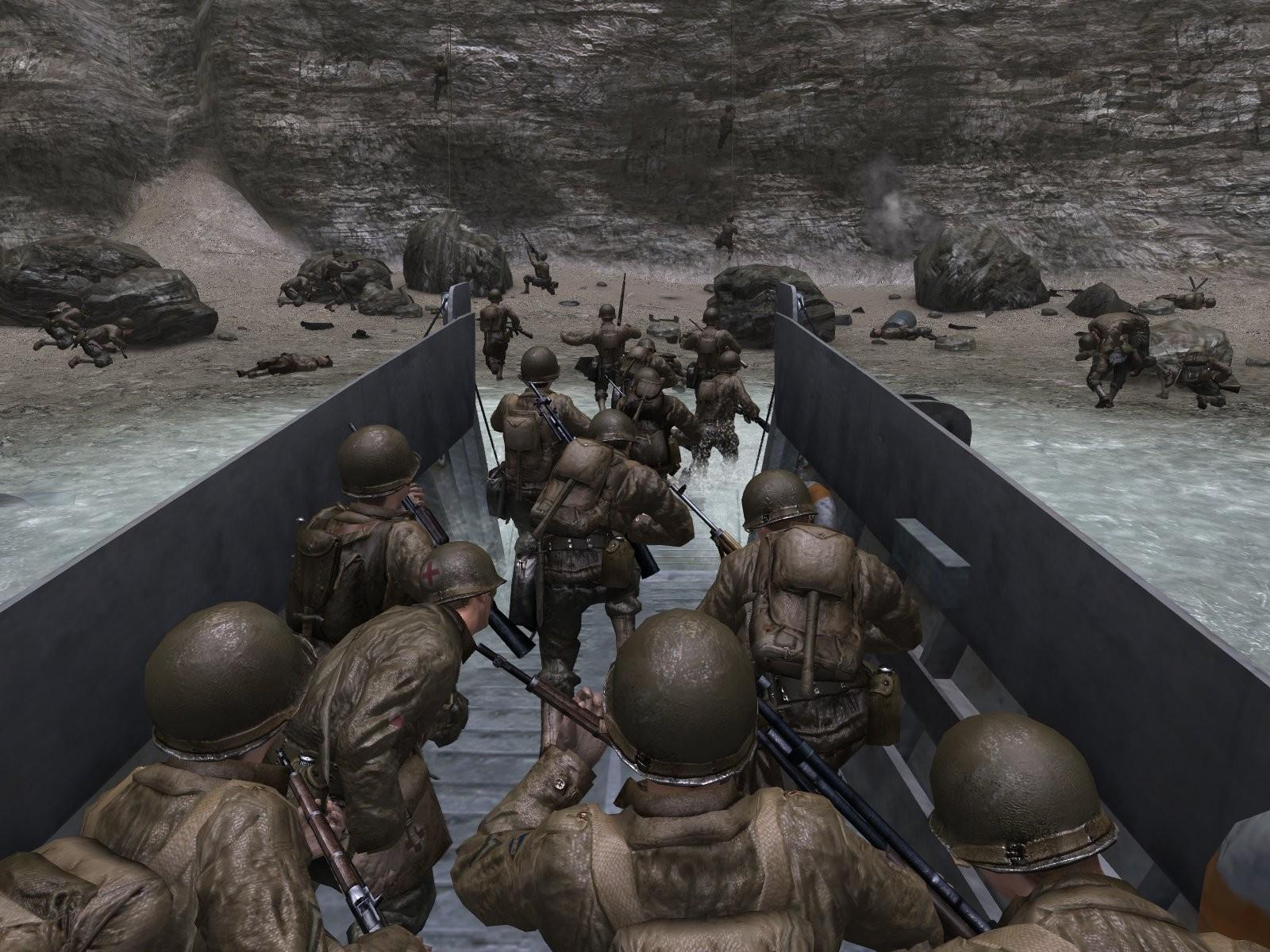 Появилась информация о возвращении Сall of Duty к сеттингу второй мировой войны