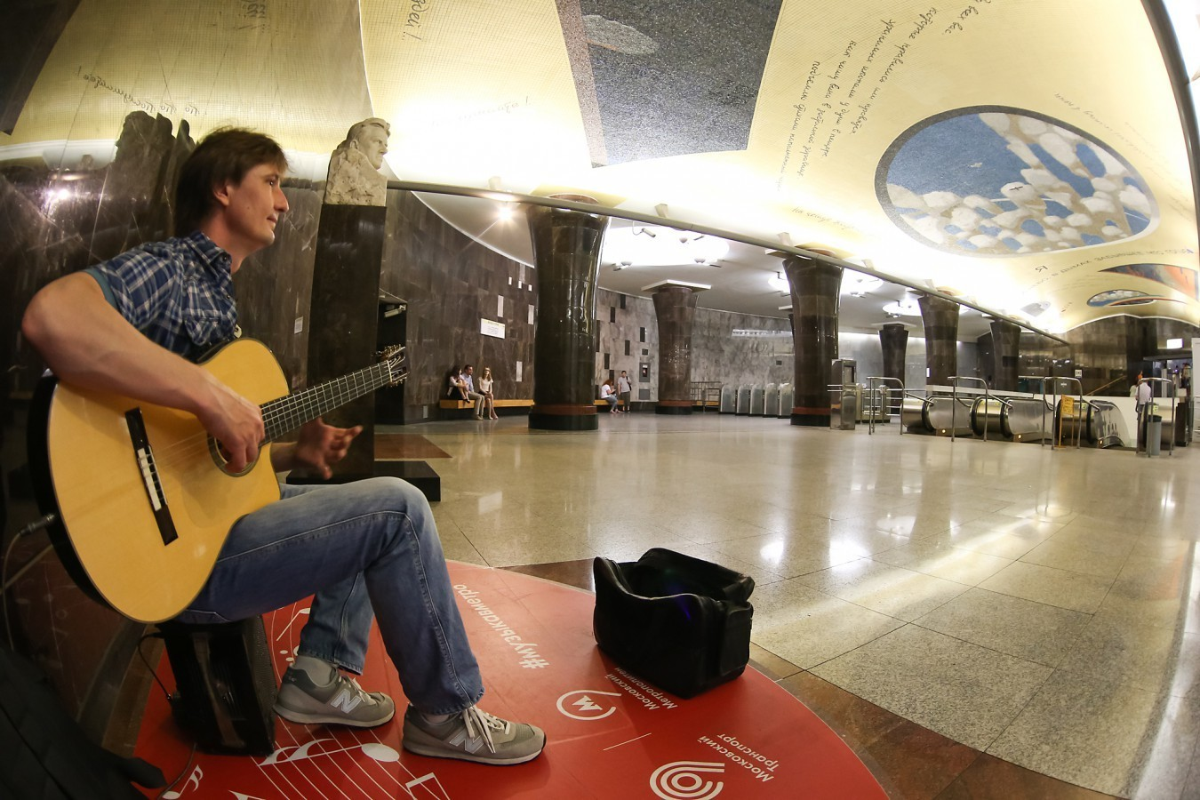 В центре Москвы стартовал новый этап Музыки в метро