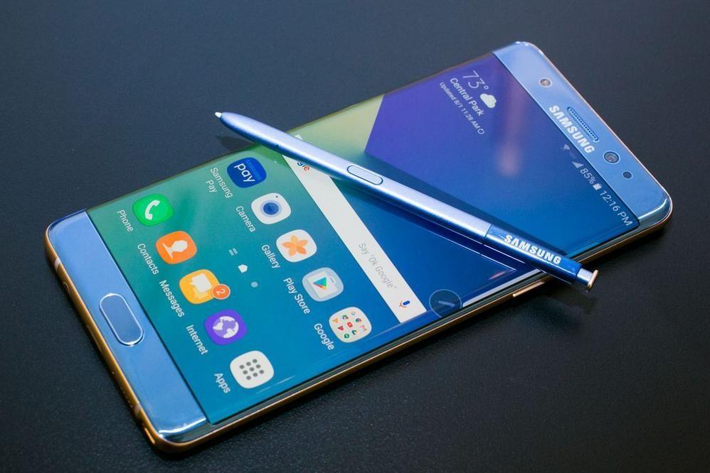 Самсунг отключает невозвращенные Galaxy Note 7
