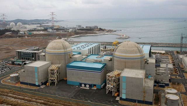 ВЮжной Корее остановлена работа одного реактора наАЭС «Кори»