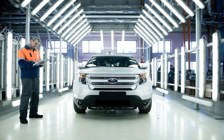 Форд считает русский рынок автомобилей перспективным