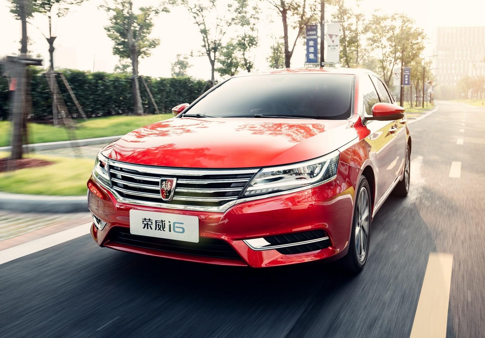 Китайцы выпускают в реализацию седан Roewe i6— копию Фольксваген Passat