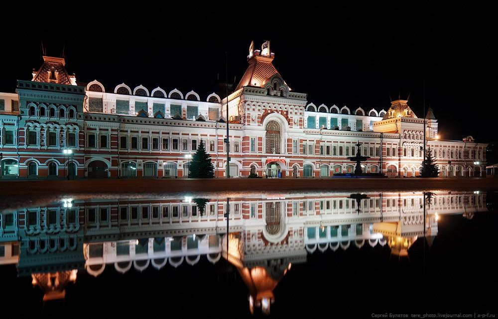 Насоздание мультимедийного парка наНижегородской ярмарке выделят неменее 140 млн руб.
