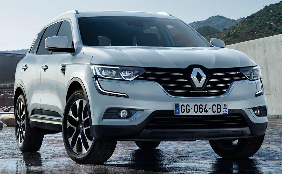 Этим летом в России появится новый Renault Koleos 2017 модельного года