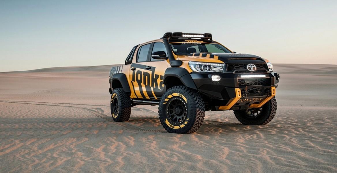 Тойота  Hilux Tonka Concept: история отом, как воплотилась детская мечта