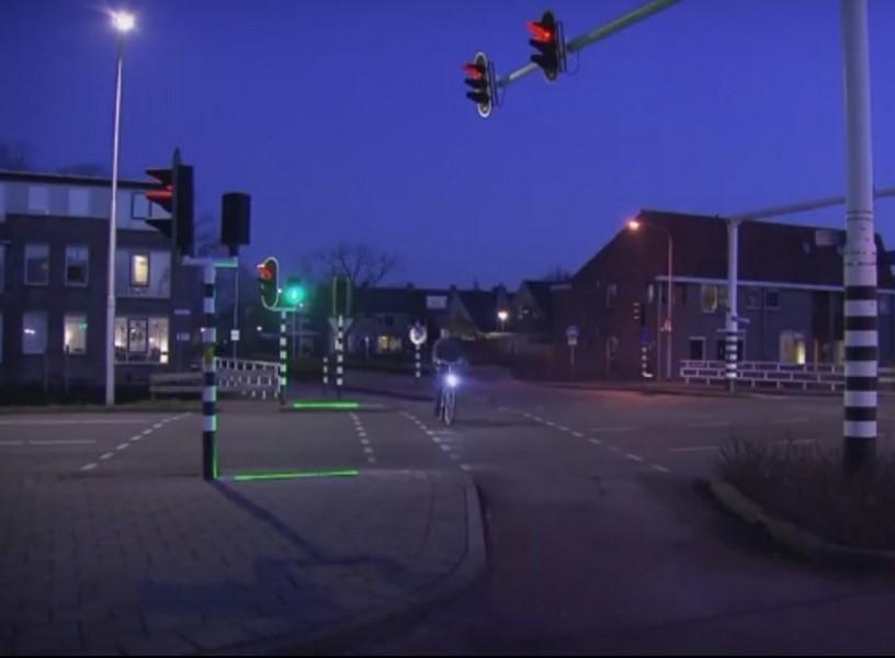 Светофор для смартфонозависимых пешеходов тестируют вНидерландах
