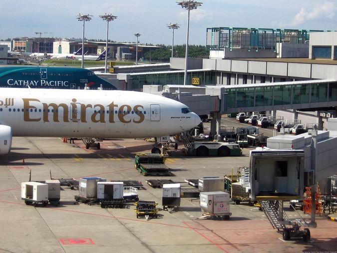 Ваэропорту Сингапура столкнулись самолеты компаний Scoot иEmirates
