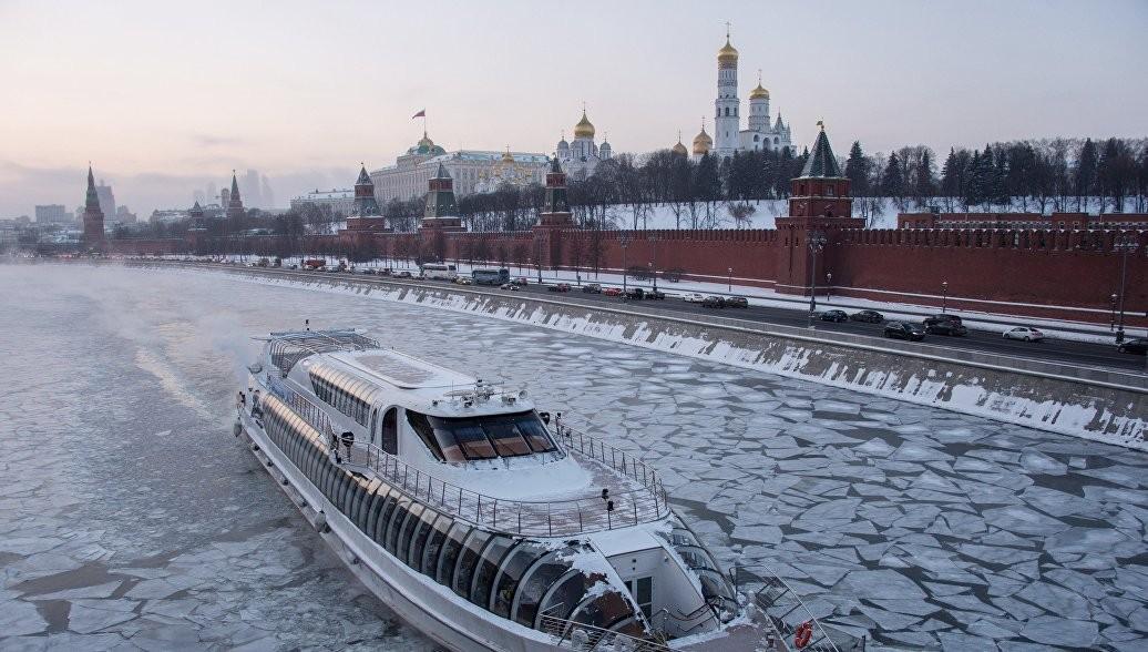 Прошедшая ночь в столице России стала самой холодной сначала весны