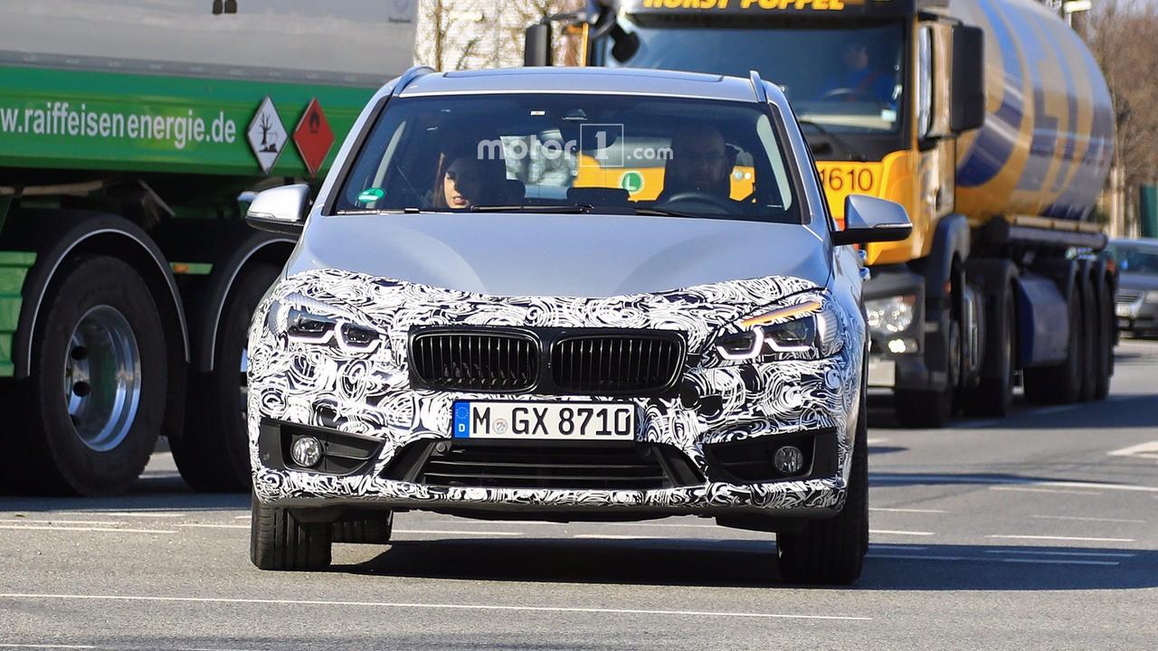 Автомобильные шпионы запечатлели улучшенный БМВ 2 Series Active Tourer