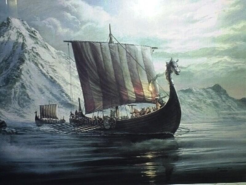 ВНорвегии отыскали игрушечный кораблик викингов