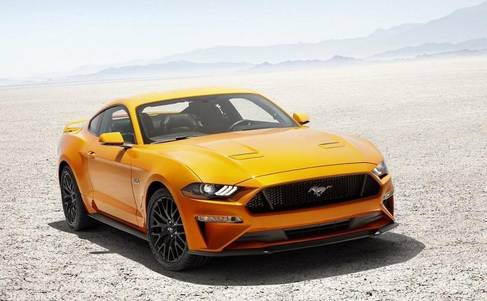 Новый Форд Mustang получил пульсирующую кнопку запуска мотора