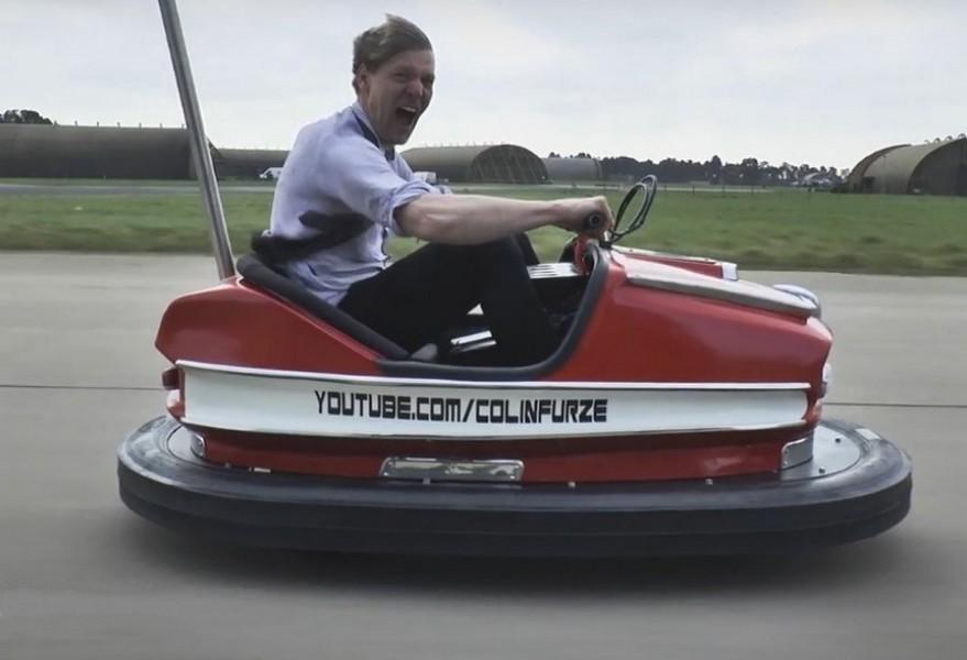 Стиг установил рекорд скорости на аттракционном автомобиле