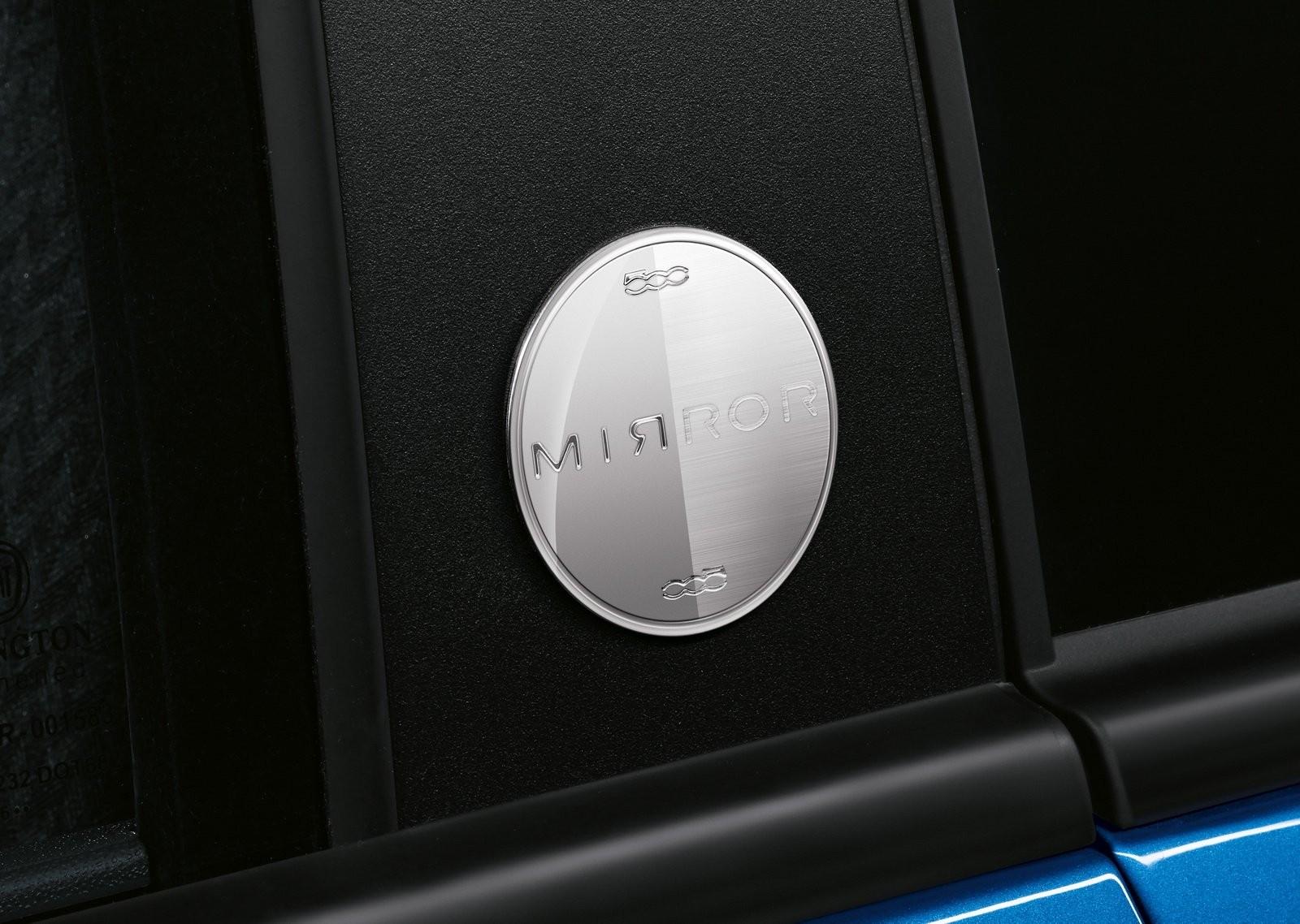 Фиат представил молодёжный хэтчбек 500 Mirror Special Edition