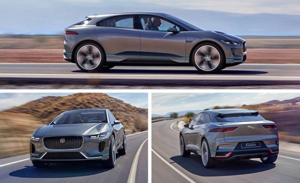 В Женеве покажут концепт электрического Jaguar I- Pace